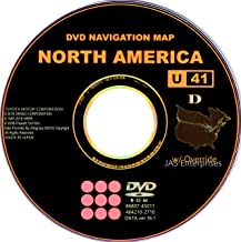 Toyota Lexus Navigation Map Update DVD Ver 16.1 U41 with Override Gen5