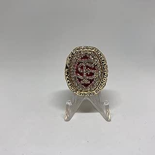 2014 Roberto Aguayo Florida State Seminoles FSU High Quality Replica 2014 ACC Championship Ring Size 10-Gold Colored