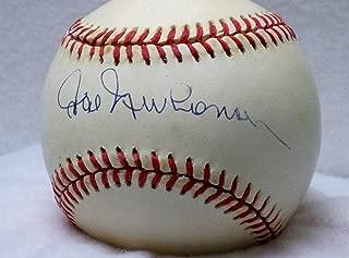 HAL NEWHOUSER Autographed American League Baseball (JSA)