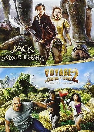 Jack et le Chasseur de Géants + Voyage au Centre de la Terre 2, Lîle Mystérieuse - Coffret DVD