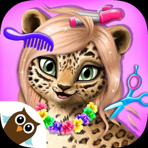 Jungle Animal Hair Salon - Makeup, …