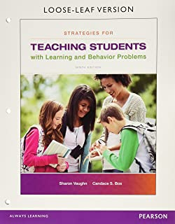 Strategies for Teaching Students with Learning and Behavior Problems, Loose-Leaf Version (9th Edition)