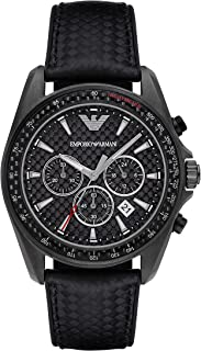 Emporio Armani Men's Sigma Chronograph Sport Watch With Quartz Movement