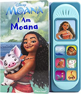 Disney Moana – I Am Moana Little Sound Book – PI Kids (Play-A-Song)