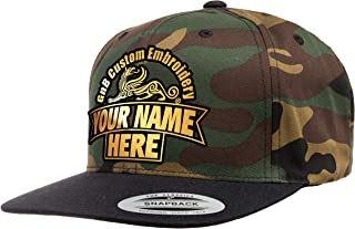 Yupoong Custom Hat. 6089 Snapback. Embroidered. Place Your Own Text