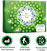 5Strands | Household Pet Metal & Mineral Over Exposure Test Kit | for Dogs, Cats, More | Tests 40 Items | Arsenic, Cadmium, Lead, Mercury | Hair Analysis