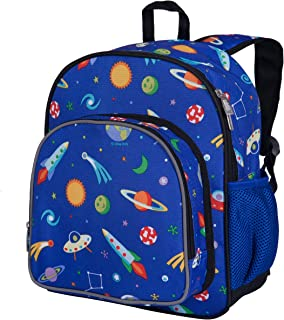 Wildkin 12 Inch Backpack for Toddler Boys and Girls of Daycare, Preschool, and Kindergarten Pack 'n Snack Blue 40077
