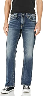 Silver Men's Jeans Zac Relaxed Fit Straight Leg - M42408sbb276