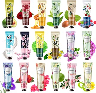 18 Pack Hand Cream for Dry Cracked Hands,Working Hands, Natural Plant Fragrance Hand Lition Moisturizing Hand Care Cream G...