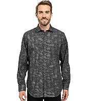 BUGATCHI - Brizio Long Sleeve Woven Shirt