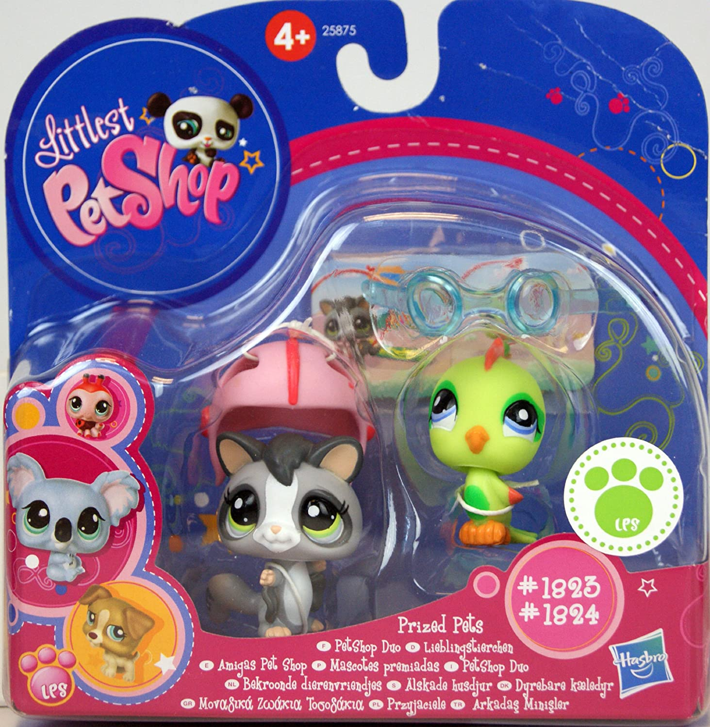 Littlest Pet Shop Prized Pets  1823 And  1824