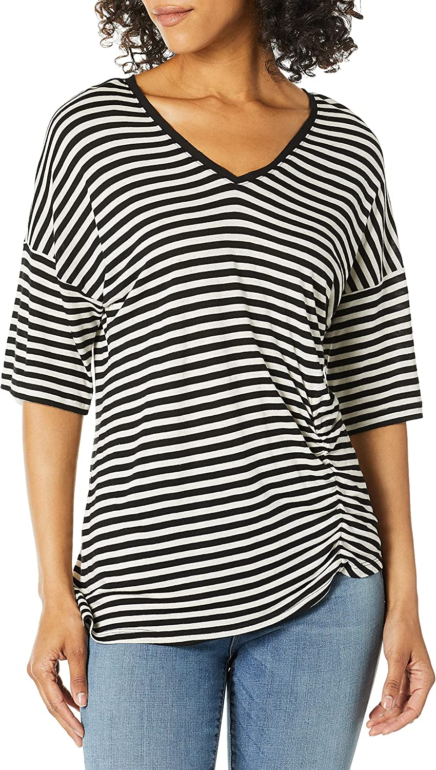 Kenneth Cole Women's 買取 Tee Side Ruched 即納