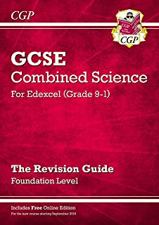 Grade 9-1 GCSE Combined Science: Edexcel Revision Guide with Online Edition - Foundation
