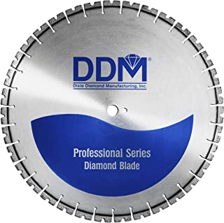 Dixie Diamond Manufacturing W402526250 Professional Wet Cutting Wall Saw Blade, 26-Inch x 0.25-Inch