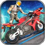 Dino Bike Stuntman Space Rider Burn the Rubber of Spin Tires 2018: Xtreme Spiderman Motorbike Racing Highway Crash Games for Kids Free Children Games Tricky Stunts Motocross Freestyle Game Dinosaur Racing Games Mania