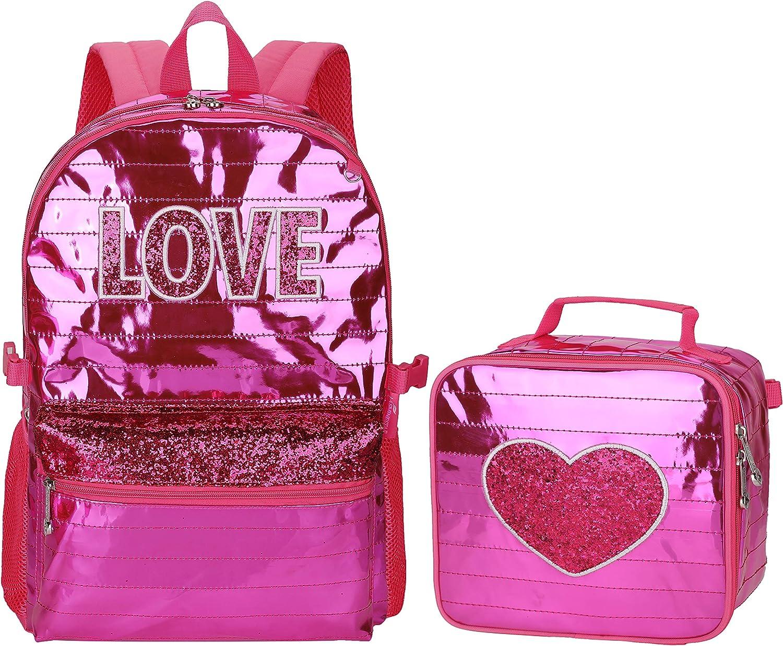 Girls Unicorn Backpack 3D Magic Sequin Backpacks for Girls School Bag for Elementary Student