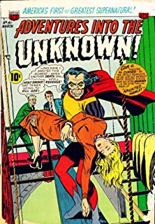 Adventures into the Unknown - Issues #41 & #42: Horror Golden Age Vintage Comics Scans Archive (Golden Age Rare Vintage Comics Collection Book 21)