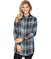 Jag Jeans - Magnolia Tunic in Yarn-Dye Rayon Plaid