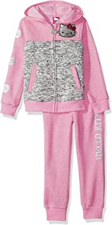 Hello Kitty 女童羊毛运动套装,饰有亮片和闪光图案