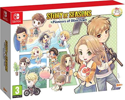 Story of Seasons. Pioneers of Olive Town - Deluxe Edition