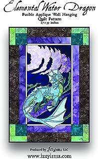 Quilt Pattern Elemental Water Dragon 27
