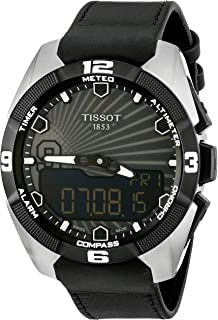 Men's T091.420.46.061.00 'T Touch Expert' Black Dial Solar Tony Park Limited Edition Swiss Quartz Watch