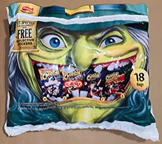 Cheetos Bag of Bones Flaming Hot Halloween Variety Pack 18 count