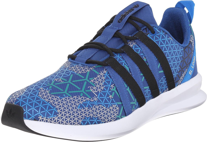 Adidas Originals Sl Loop Racer Lace Up shoes,black grey grey,7 M Us