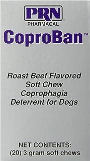 20-Piece CoproBan Anti-Coprophagia Chew Tabs, Roast Beef Flavor