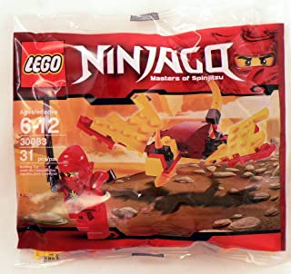LEGO Ninjago: Dragon Fight Con Kai Minifigura Establecer