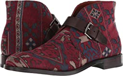 Carpet Print Ankle Boot