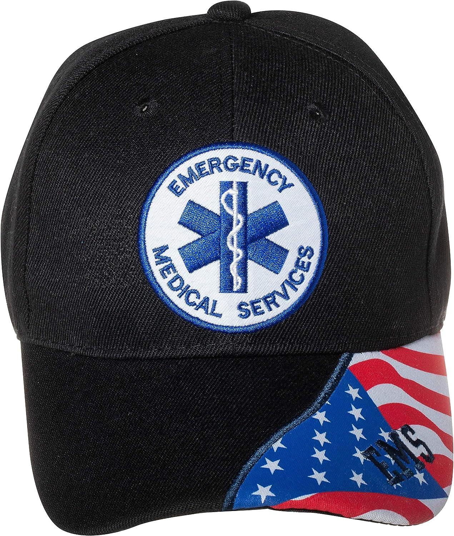Max 40% OFF Artisan Owl Emergency Medical Services EMT EMS Finally resale start B Embroidered Hat
