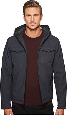 Levi's® - Hooded Two-Pocket Trucker with Sherpa Lining