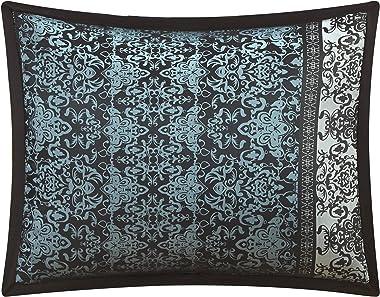 Stratford Park Vivi Comforter, King, Black/Blue
