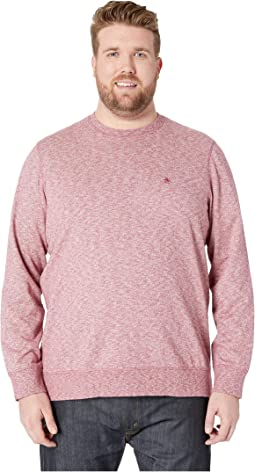 Big & Tall Long Sleeve Jaspe Crew Neck