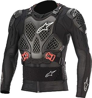Alpinestars Unisex-Adult Bionic Tech V2 Protection Jacket Black/Red Lg (Multi, one_size)