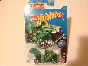 Hot Wheels 2016 X-Raycers Rig Storm 12/250, Green (Treasure Hunt)