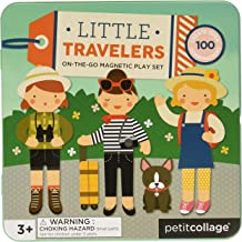 Petit Collage Mix and Match Magnetic Tin Little Traveler