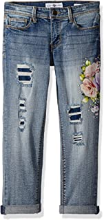 Black Daisy Girls' Big Tween Best Friend Relaxed Skinny Jean