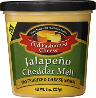 Old Fashioned Cheese Melt, Jalapeno, 8 Ounce (Pack of 12)