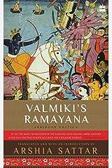Valmiki's Ramayana Kindle Edition
