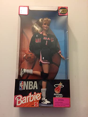 12  NBA Miami Heat Barbie Doll by Mattel