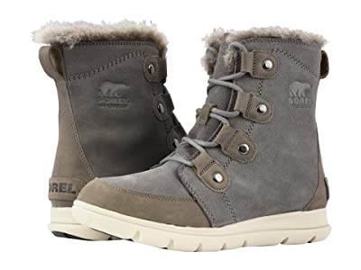 SOREL Explorer Joan (Quarry/Black) Women