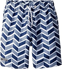 Toobydoo Geo Pattern Swim Shorts (Infant/Toddler/Little Kids/Big Kids)