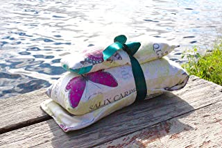 The Therapy Pillow Set: HOURS of comfort:Temperature Therapy (hot/cold), Hug Therapy (3 lbs of pressure), and Aromatherapy.