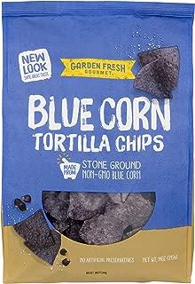 Garden Fresh Gourmet Blue Corn Tortilla Chips, 14 Ounce
