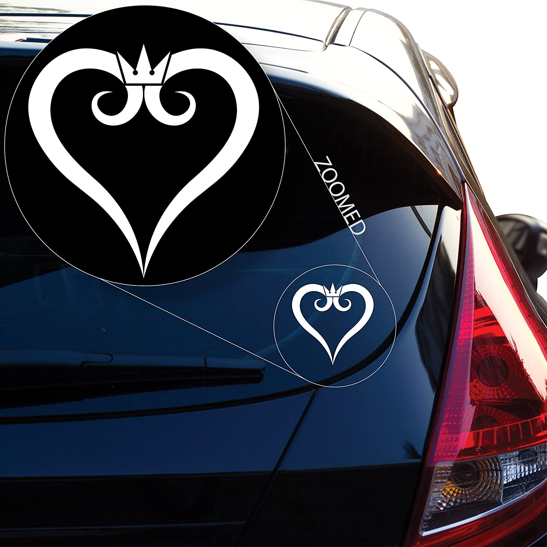 Kingdom Key Decal Sticker For Car Window Truck SUV Wall Art Decor Laptop Macbook