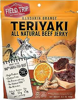 Field Trip All Natural Grass-Fed Beef Jerky, Teriyaki, 2.2 Ounce