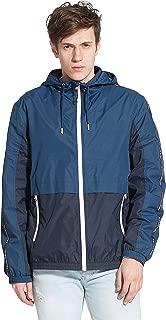Men's Ultra Lightweight Quick Dry Athletic Outdoor Rainproof Hooded Windbreaker Jacket