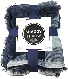 Women Owned Shaggy Throw (60 in X 70 in) - Buffalo Plaid